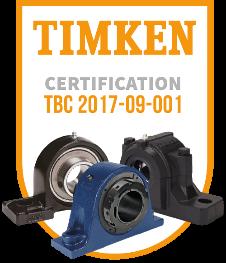 Certification Palier TIMKEN