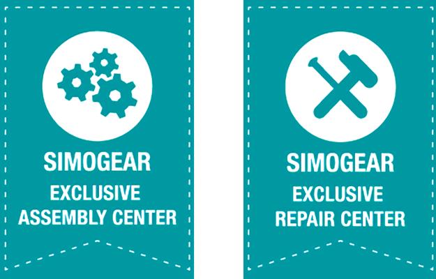 Logos Certifications SIMOGEAR