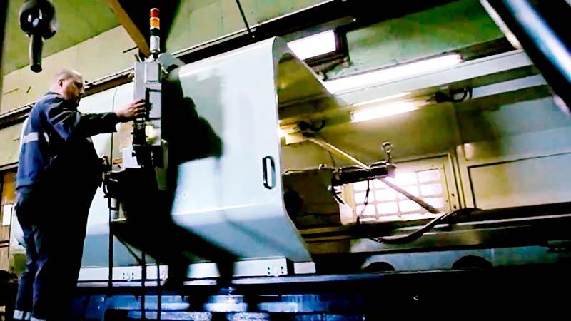 Machine numérique pour la production de tambours chez Transméca